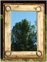 western style mirrors