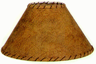 Southwest country ferm lamp shades rawhide with leather lamp shades aloadofball Choice Image