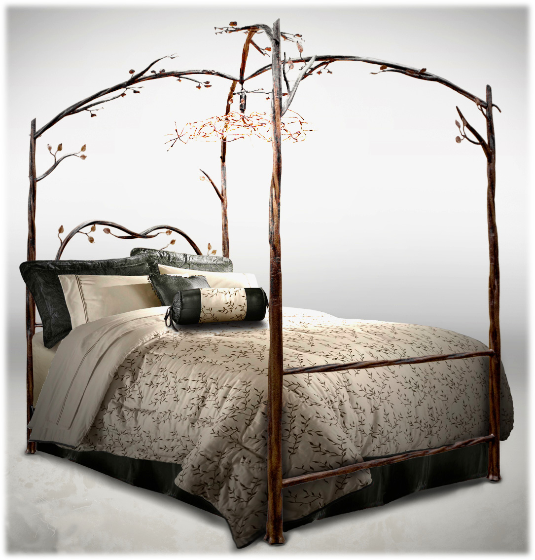 - Enchanted Bed, Stone County Iron Works, Designer Canopy Bed